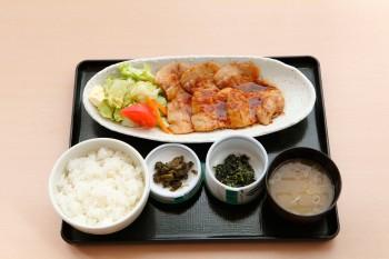 焼肉定食(国産豚ロース)