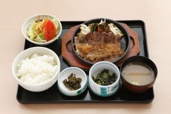 りぶろーす焼定食(黒毛和牛)